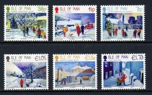 Isle of Man --2012-  Christmas   MNH  Set   # 1528-1533