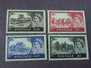 GREAT BRITAIN # 309-312--MINT/HINGED---COMPLETE SET----1955