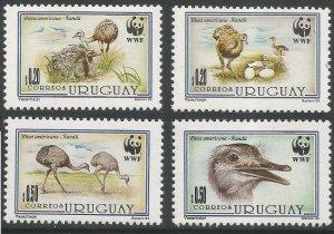 1993 Uruguay 2021-2024 WWF, The Greater Rhea 4,60 €