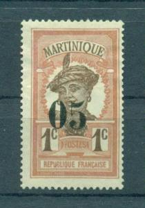 Martinique sc# 105 mng cat value $2.10