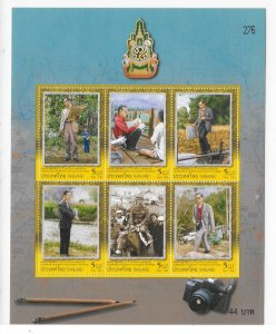 Thailand 2006 King 60th anniversary of Accession Sheet Sc 2233a MNH C5