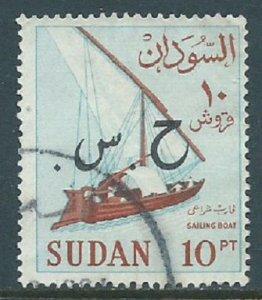 Sudan, Sc #O72, 10pi Used