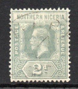 Northern Nigeria 1912 KGV 2d Grau Sg 42 Gebraucht