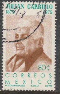 MEXICO 1088, 80¢ Birth Centenary of Julian Carrillo, Composer USED. VF. (884)