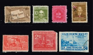 CUBA STAMP USED MINT Stamps Collection Lot #F1