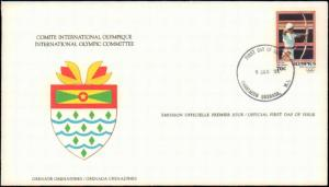 Grenada, First Day Cover, Sports