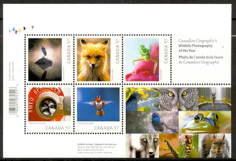 CANADA # 2388 Mint NH  -- SG MS2684 Miniature Sheet