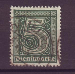 J20643 Jlstamps 1920-1 germany used #o1 numeral