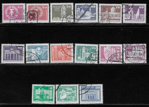 GERMANY - DDR SC# 271-85  FVF/CTO 1980-81