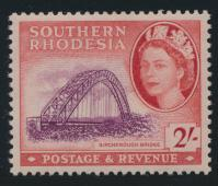 Southern Rhodesia  SG 87 SC# 90  Mint  lightly Hinged  Birchenough Bridge