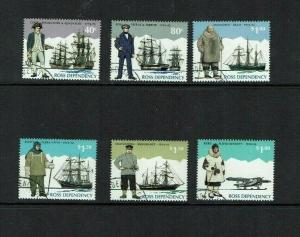 Ross Dependency,: 1995 Antarctic Explorers,  fine used (cto)