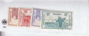 Iceland: Sc #B1-4, Semi-Postal, Used (S18956)