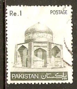 Pakistan  #470  used  (1980)