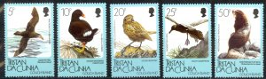 Tristan Da Cunha Sc# 455-459 MNH 1989 Gough Island Fauna