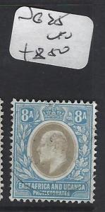 EAST AFRICA AND UGANDA  (P0909B)  KE 8A      SG 25      VFU