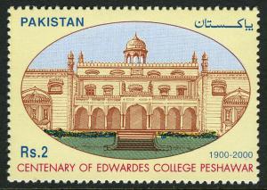 Pakistan 947, MNH. Edwardes College, Peshawar, cent. 2000