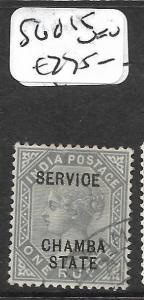 INDIA CHAMBA  (P2409B) QV  11R   SERVICE SG O15    VFU