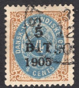 DANISH WEST INDIES SCOTT 40A