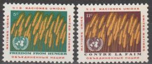 UN #116-7  MNH F-VF (SU643)