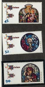 Canada - 1997 Christmas Set VF-NH #1669-1671