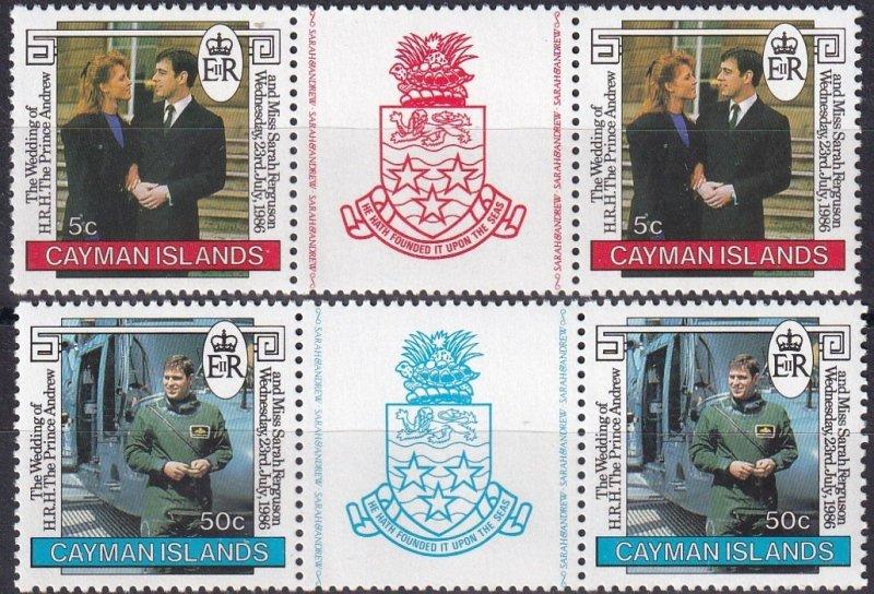 Cayman Islands #560-1  MNH  CV $3.40  (Z1357)