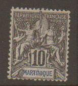Martinique #38 Mint