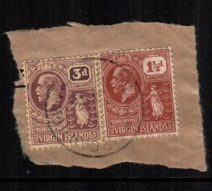 British Virgin Islands  57 61  used cat $  12.00