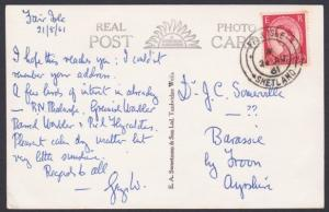 GB SCOTLAND 1961 postcard FAIR ISLE / SHETLAND cds.........................53716