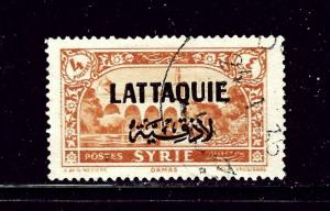 Latakia 14 Used 1931 overprint