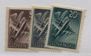 SLOVENIA  C7-9  MNH