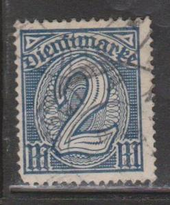 GERMANY Scott # O15 Used