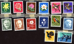 Switzerland #Mint Collection of Stamps, Mixed Condition