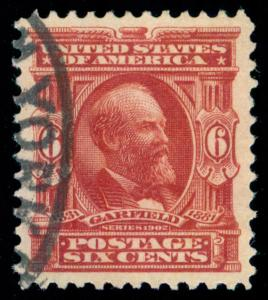 MOMEN: US STAMPS #305 USED PSE GRADED CERT XF-SUP 95