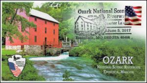 17-377, 2017, Ozark National Riverways, Eminice MO, Pictorial, Event Cover,
