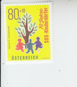 2019 Austria SOS Childrens Villages (Scott NA) MNH