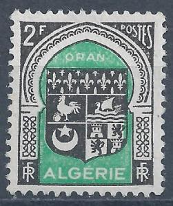 Algeria - SC# 215 - MNG - SCV $0.25