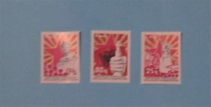 Albania - 1789-91, MNH Set. Victory Monument, etc. SCV - $5.05