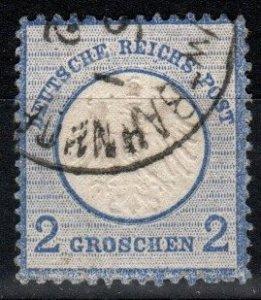 Germany #5 F-VF Used CV $7.25 (X8508)