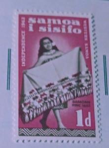 Forever Philately Samoa #121 Mint lh xf