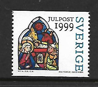 SWEDEN 2360 MNH CHRISTMAS 1999