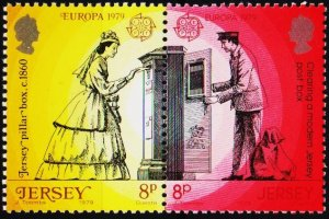 Jersey. 1979 8p(Pair) S.G.204/205 Unmounted Mint