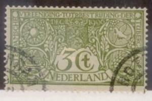 Netherlands 1906 SC#B2 Used L445
