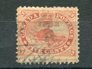 Canada #15vii  Used full inscription  -  Lakeshore Philatelics