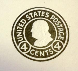 U440, 4c U.S. Postage Envelopes