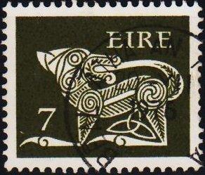Ireland. 1971 7p S.G.348 Fine Used