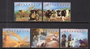 Australia 1651-1655 MNH VF