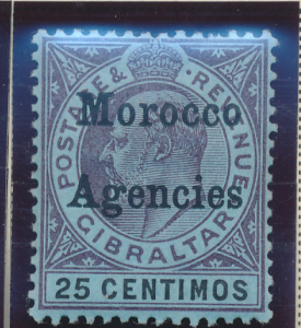 Great Britain, Offices In Morocco Stamp Scott #30, Mint Hinged - Free U.S. Sh...