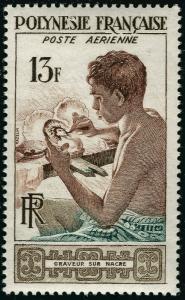 French Polynesia (Scott C24) * MNH VF*...World Class Stamp bargain!