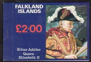 FALKLAND ISLANDS 1977 Silver Jubilee Complete Booklet; SG SB1; MNH