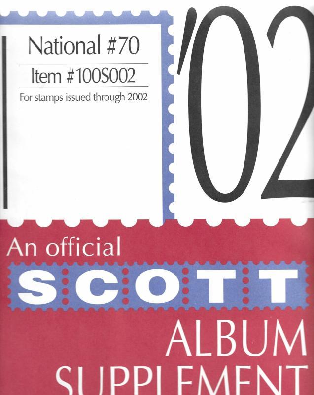 Scott National #70 Supplement 2002